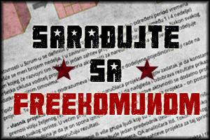 Sarađujte sa Freekomunom